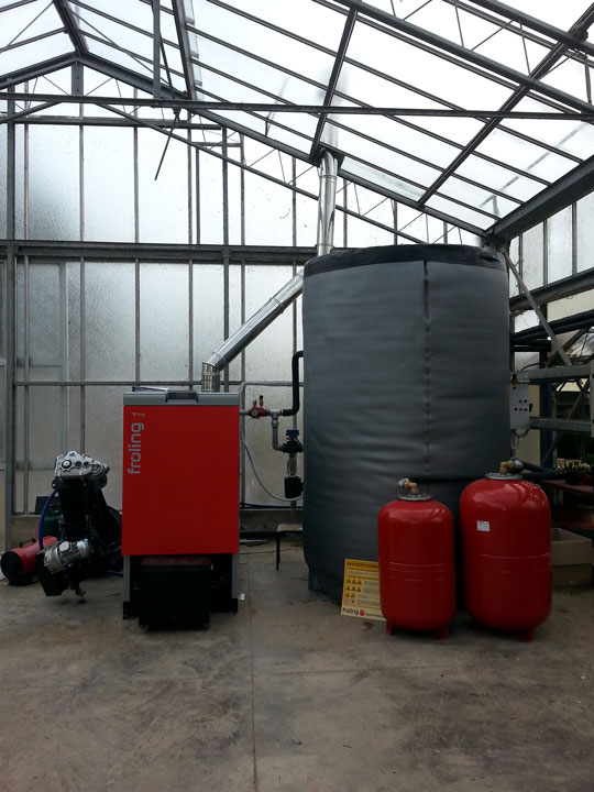 Impianto di Riscaldamento a Legna Perugia - Erga SI