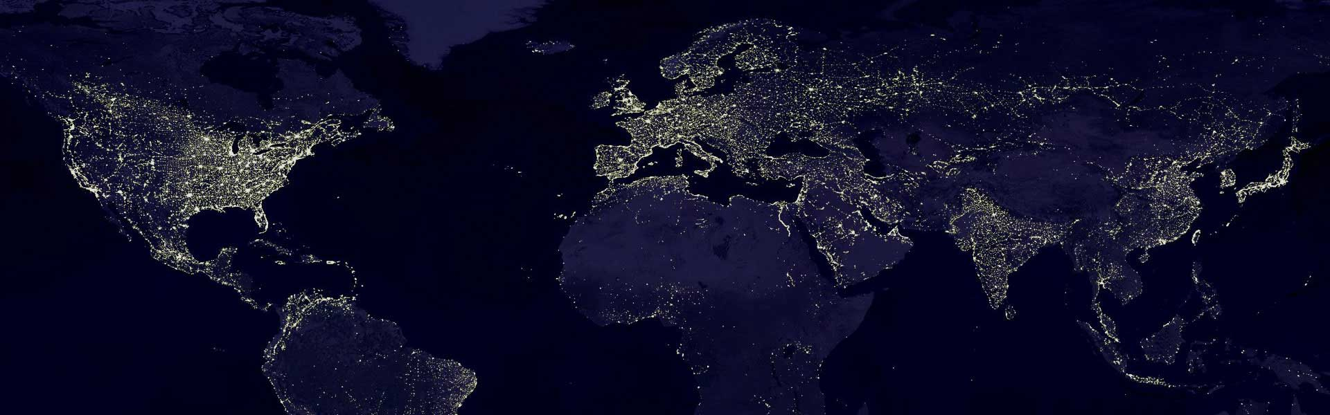 mappa satellite illuminazione